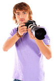Camera man Royalty Free Stock Photos