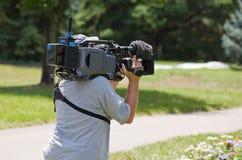 Camera Man Royalty Free Stock Images