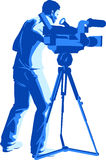 Camera  Man Royalty Free Stock Photography