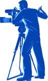 Camera Man Stock Photo