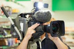 Camera man Stock Photos