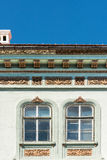Camera medievale Windows Immagine Stock Libera da Diritti
