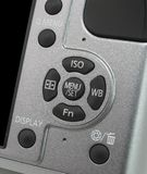 Camera Menu Control Royalty Free Stock Photos
