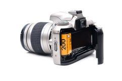 Camera met 35 mm-film Royalty-vrije Stock Afbeeldingen