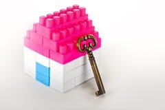 Camera miniatura con la chiave Immagini Stock Libere da Diritti