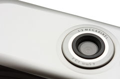 Camera on mobile phone. Stock Images