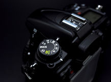 Camera mode dial Shutter priority mode Stock Image