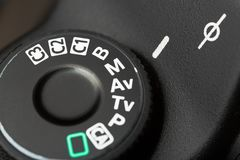 Camera. Mode dslr ring focus priority photography royalty free stock images