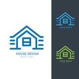 Camera moderna Logo Design Template Flat Simple Immagine Stock