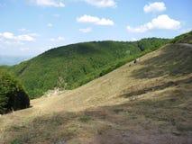 Camera in montagna fotografie stock