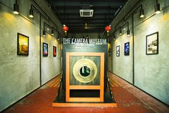 The Camera Museum Penang stock image