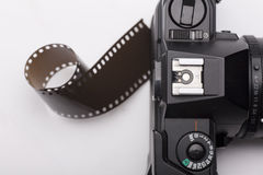 Camera negative Royalty Free Stock Photos