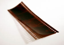 Camera Negatives Royalty Free Stock Photo