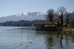Camera nel lago StWolfgang fotografia stock libera da diritti