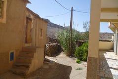 Camera nel villaggio del marocchino immagine stock