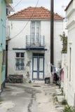 Camera nel villaggio Rodi di Ialysos Immagine Stock Libera da Diritti