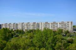 Camera nella città di Komsomol'sk-na-Amure, Russia Fotografie Stock