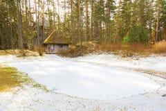 Camera nella foresta Fotografie Stock