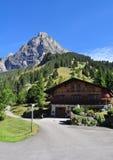 Camera nelle montagne Fotografia Stock