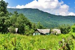 Camera nelle montagne fotografie stock libere da diritti