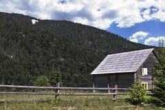 Camera nelle montagne Immagine Stock Libera da Diritti