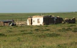 Camera nelle steppe del Kazakistan Immagini Stock