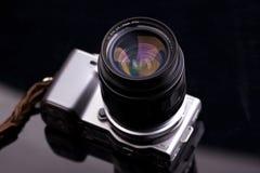 Camera NEX Digtial en lens Royalty-vrije Stock Fotografie