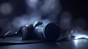 Camera & x28;Nikon& x29; royalty free stock images