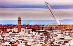 Camera Obscura Alamillo Bridge Seville Spain Royalty Free Stock Image