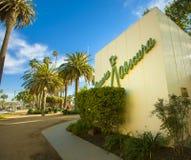 Camera obscura in Santa Monica, Californië Royalty-vrije Stock Afbeeldingen