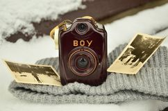 Camera, Old, Antique, Photograph Stock Images