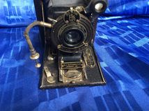 Camera. Old camera Kodak liens Autograph Royalty Free Stock Photography