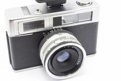Camera. Old photo camera analog of 35 millimeters Royalty Free Stock Image