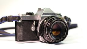 Camera, Old, Retro, Fujifilm, Photo Stock Image