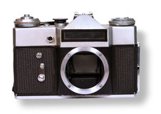 The camera on old Royalty Free Stock Photos