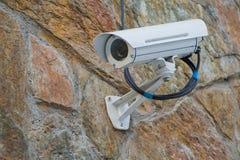 Camera op muur Royalty-vrije Stock Fotografie