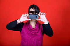 Camera phone Royalty Free Stock Image