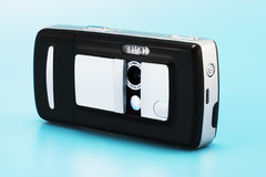 Camera Phone. On a white background with smooth shadow Royalty Free Stock Photography