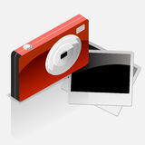 Camera with Photo Icon Royalty Free Stock Images