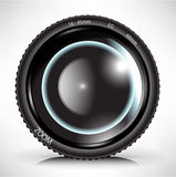 Camera photo lens Stock Photography