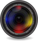 Camera photo lens Stock Image