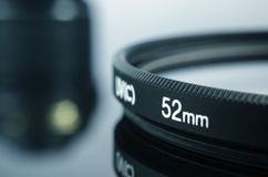 Camera photo lens  52mm Royalty Free Stock Photography