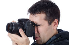 Camera and Photographer Stock Images
