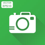 Camera photographer icon. Business concept photography camera pi Royalty Free Stock Photography