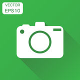 Camera photographer icon. Business concept photography camera pi Royalty Free Stock Photos