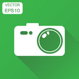 Camera photographer icon. Business concept photography camera pi Stock Photography