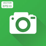 Camera photographer icon. Business concept photography camera pi Royalty Free Stock Image