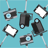 Camera photographic Stock Images