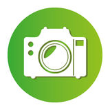 Camera photographic isolated icon Stock Photos