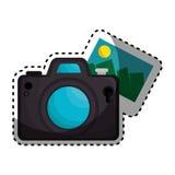 Camera photographic isolated icon Stock Photos